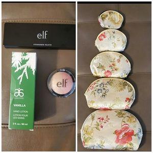 Makeup and makeup case bundle